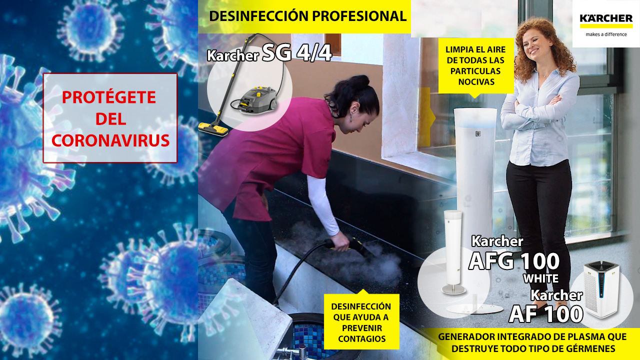 limpieza profesional coronavirus