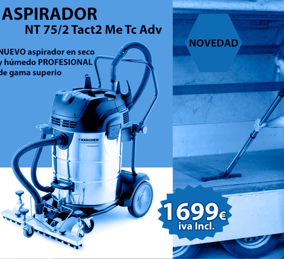 promocion aspirador karcher