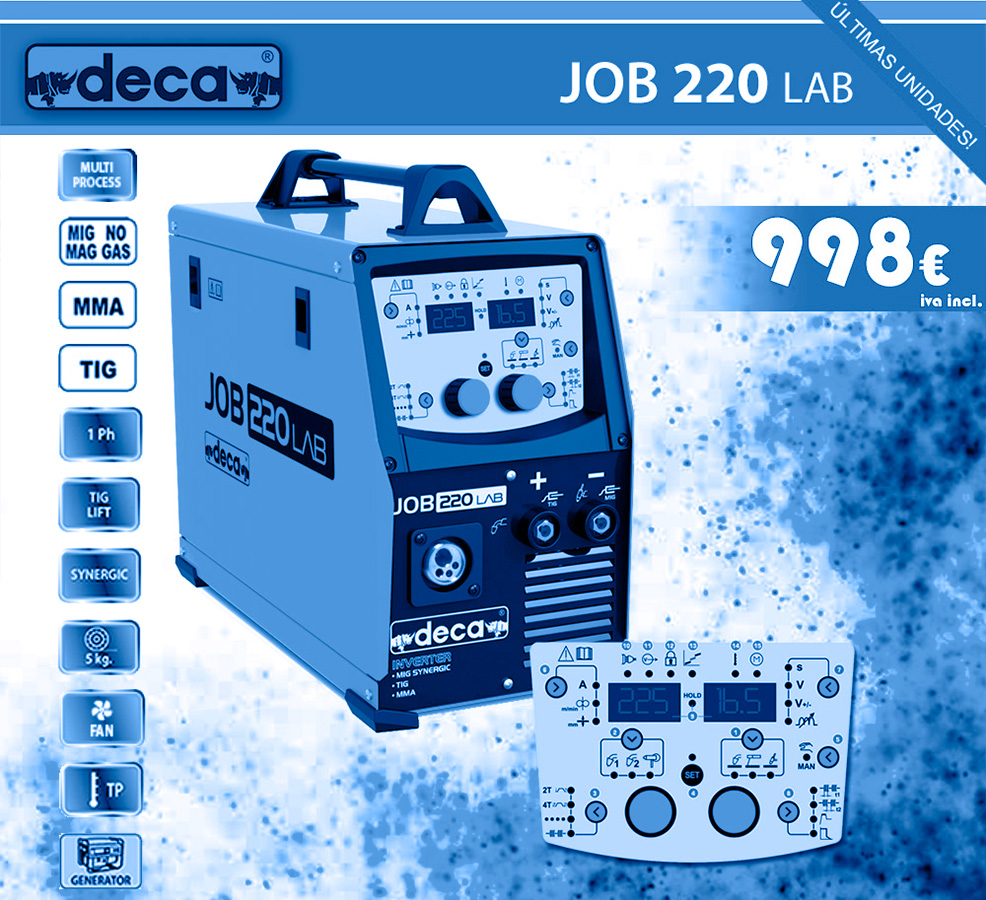 promocion deca job 220 lab